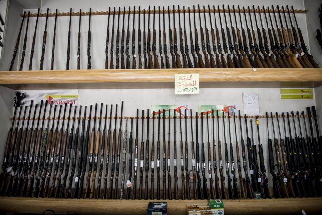 Armas que se pueden comprar en los territorios de Hezbollah en Líbano