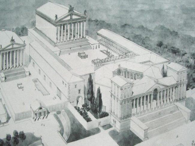 Cómo eran los templos de Baalbek en la antigüedad