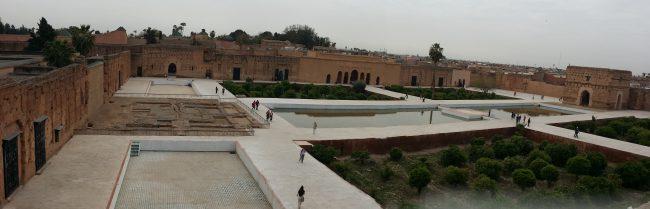 Visitar el Palacio de El Badi en Marrakech