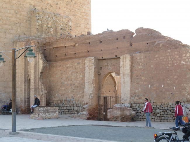 Ruinas de la antigua Koutubia