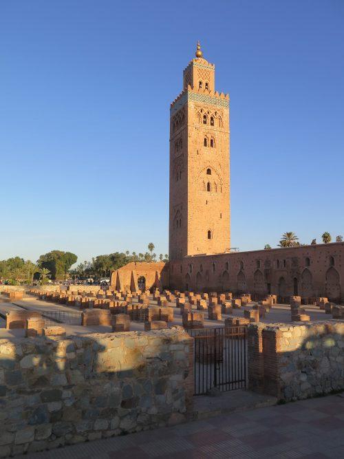 Mezquita sin orientar a la Meca