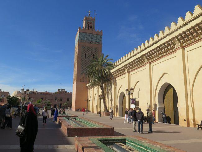 Construcciones de Yacoub Al Mansour en Marrakech