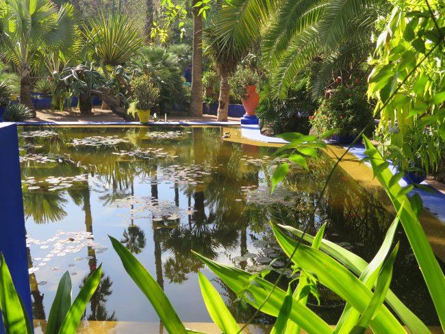 Dónde está el Jardín de Majorelle en Marrakech
