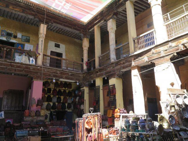 Dónde están los fondouks de Marrakech