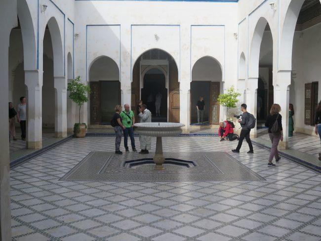 Zona privada del Palacio de la Bahía
