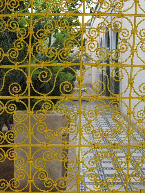 Detalles ornamentales del Palacio de la Bahía