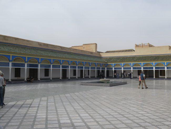 El Gran Patio del Palacio de la Bahía