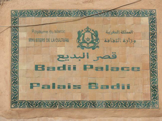 Badii Palace Marrakech