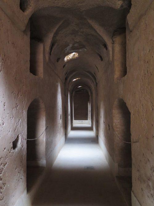 Galerías Subterráneas en el Palacio de El Badi