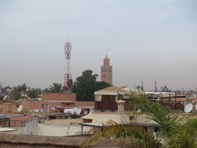 Minbar de la mezquita de la Koutubia