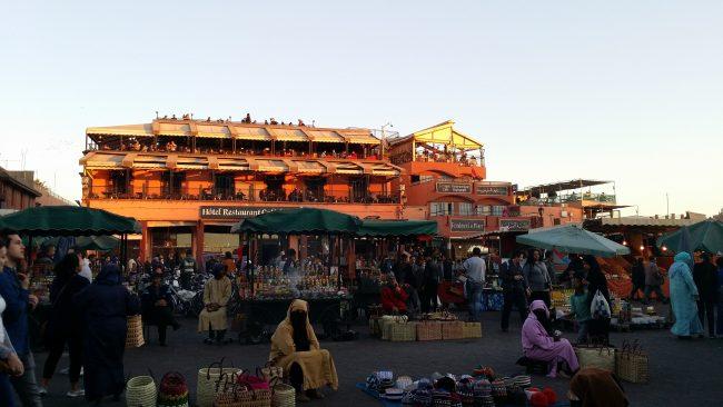Precios terrazas Plaza de la Jemaa