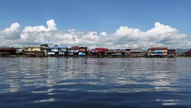 Los bellos poblados del Lago Inle