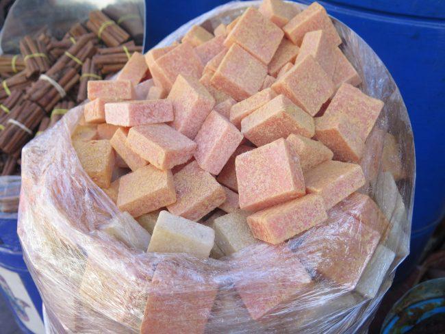 Los perfumes sólidos típicos de Marrakech