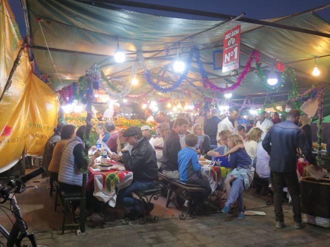 Restaurantes de la Plaza de la Jemaa