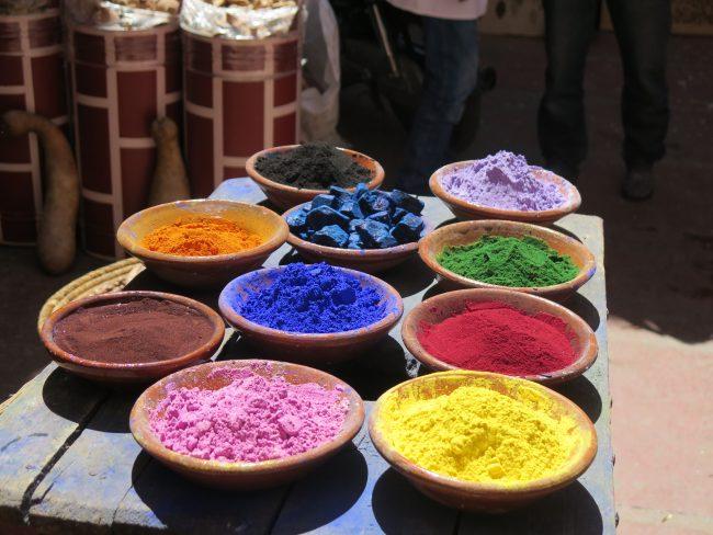 Multitud de usos de los tintes naturales