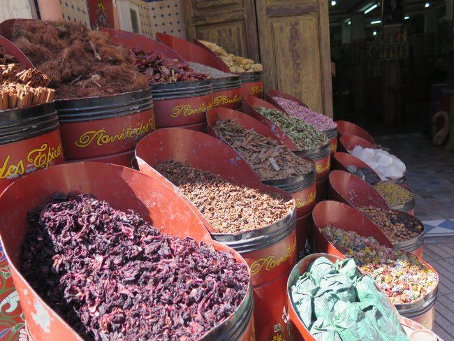 Marrakech de compras