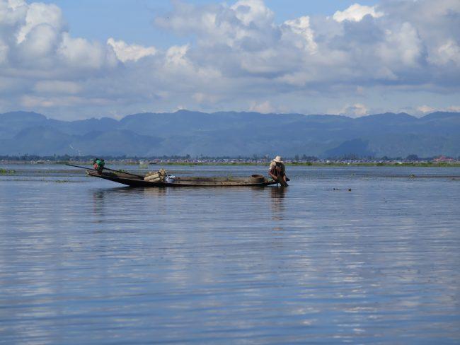 Habitantes del Lago Inle