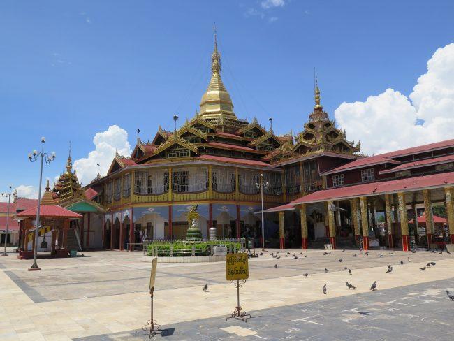 Visitar la pagoda más importante del Lago Inle