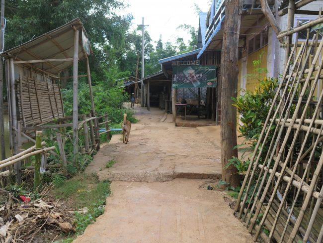 Cómo llegar a la aldea Indein