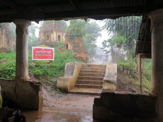 Temporada de lluvias en Asia