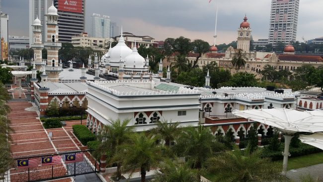 La mezquita más antigua de Kuala Lumpur