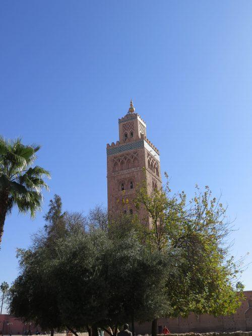 Las tres mezquitas almohades de Marrakech