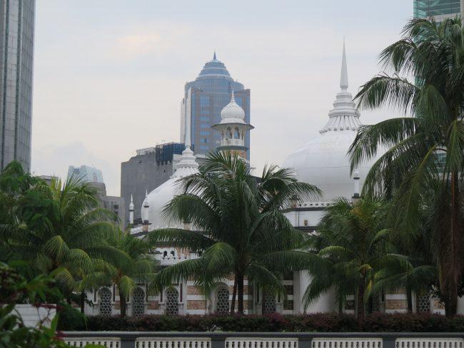 Mezquita céntrica en Kuala Lumpur
