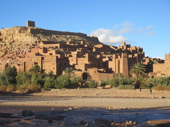 Pueblo fortificado cerca de Marrakech