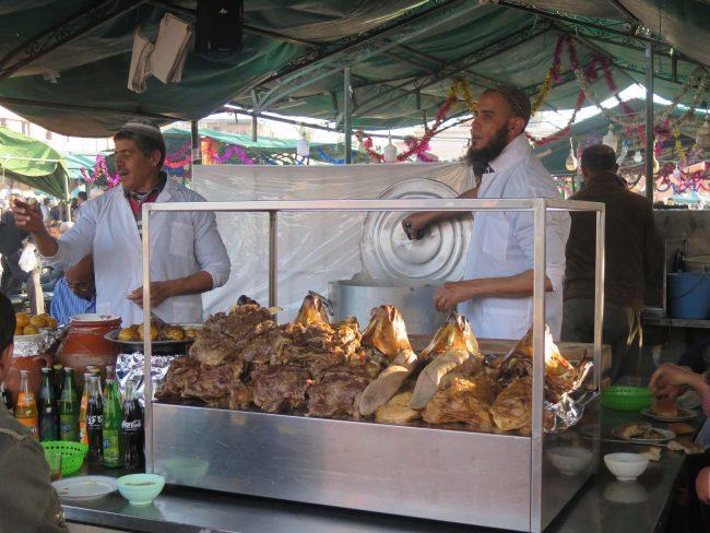 Curiosas imágenes que sólo pueden disfrutarse en Marrakech