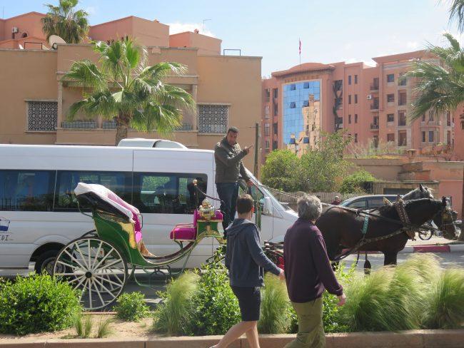 Cómo moverse por Marrakech