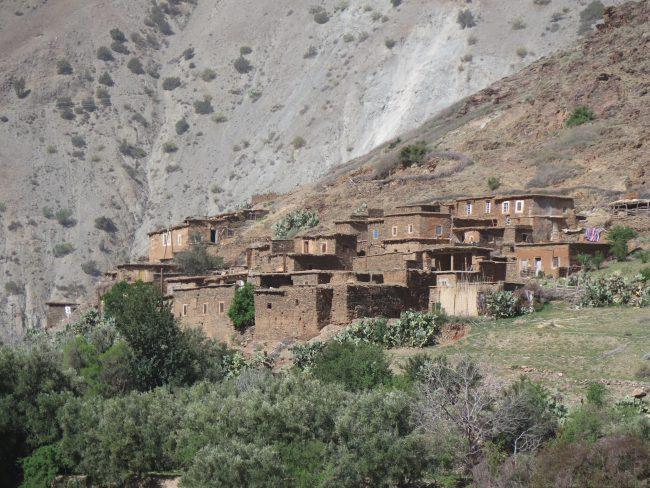 Pueblos del Alto Atlas