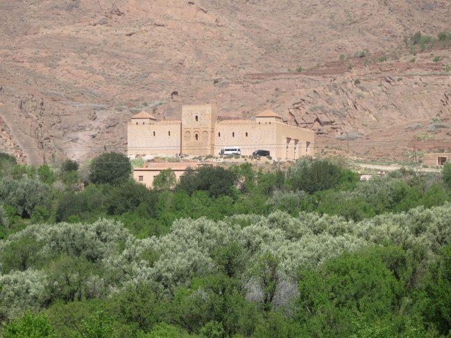 La Mezquita Blanca de Marruecos