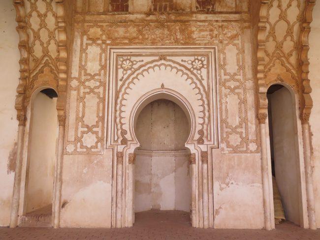 Uno de los mihrab más bellos del mundo