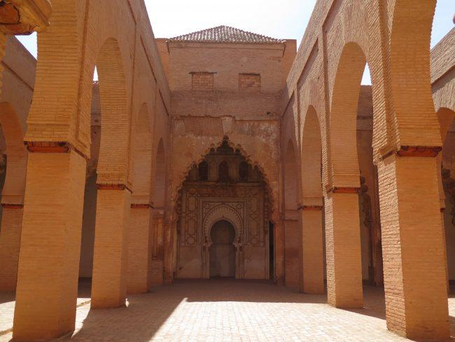 Modelo arquitectónico de las mezquitas almohades