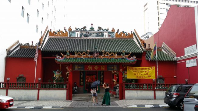Templos chinos en Chinatown de Kuala Lumpur