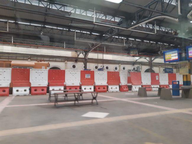 Interior de la Vieja Estación de Tren de Kuala Lumpur