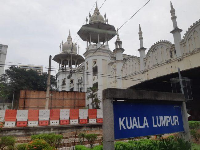 Vías de la Antigua Estación de Tren de Kuala Lumpur