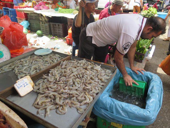 Mercados húmedos de Kuala Lumpur