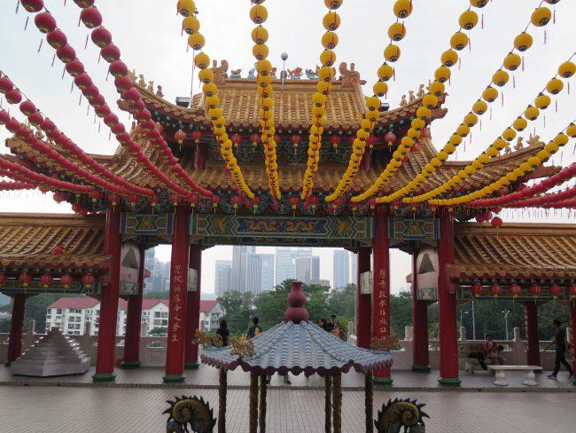 Templo chino de Kuala Lumpur