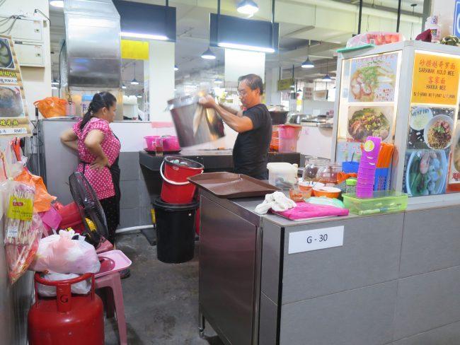 Cocineros malayos