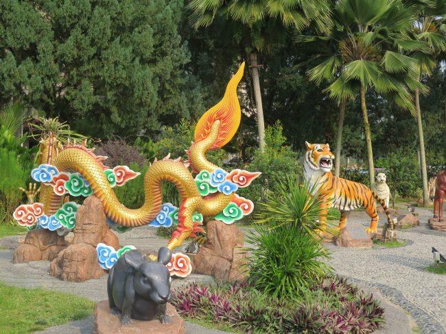 Exterior del Templo Thean Hou