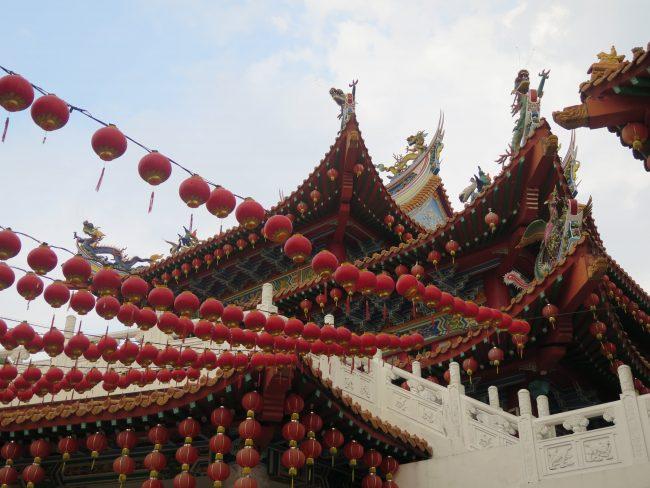 El Templo de los Farolillos en Kuala Lumpur
