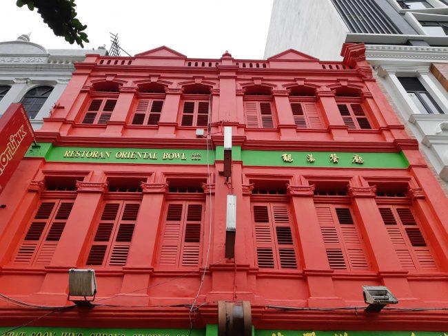 Las bellas shophouses del centro de Kuala Lumpur
