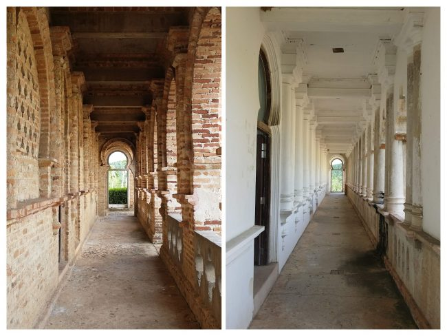 Los pasillos que recorren los fantasmas