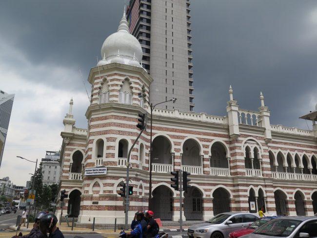 Ejemplo de arquitectura mogol en Malasia