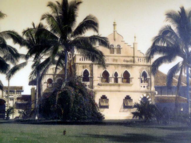 Arquitectura de las mansiones de los caucheros malasios