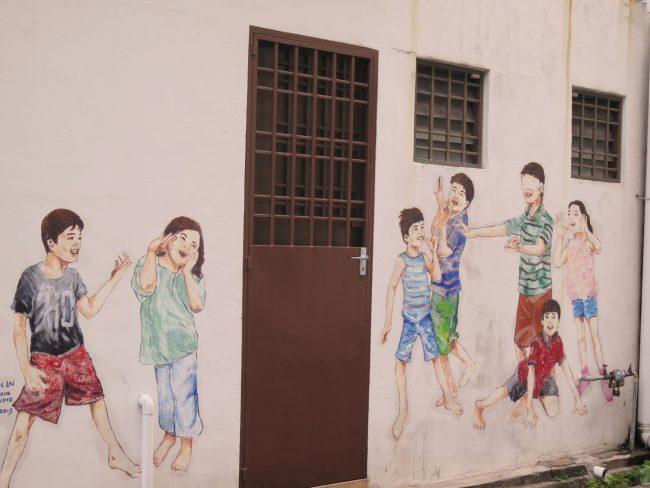 Decoración urbana en Ipoh