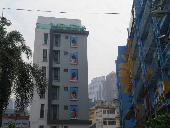 Kuala Lumpur pinta sus calles