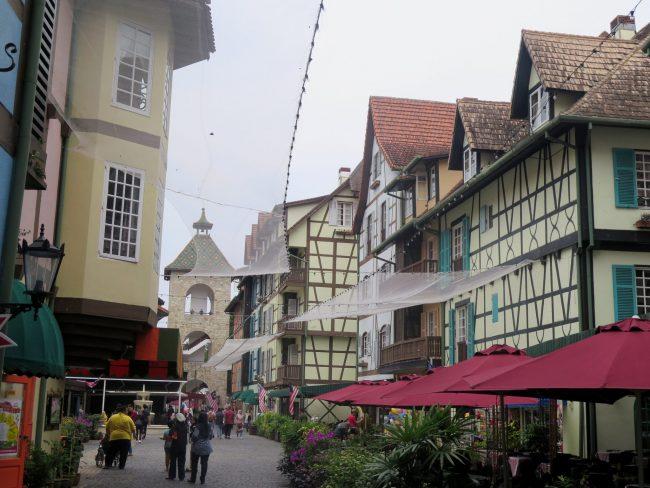 Visitar un pueblo francés en Malasia