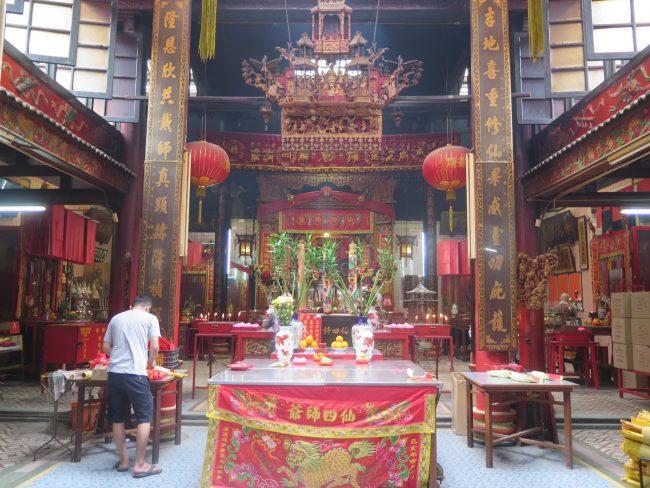 Templo chino más antiguo de Kuala Lumpur